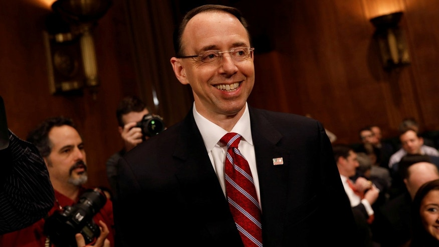 US Senate Confirms Trump Nominee Rod Rosenstein for Deputy Attorney General