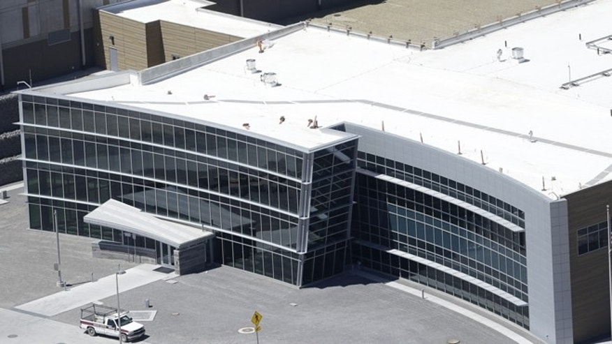 An aerial view of the NSA's Data Center in Utah.
