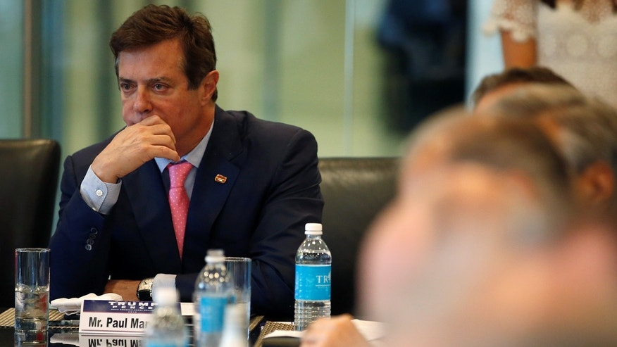 US Justice Department Sought Trump Campaign Chair Manafort's Bank Records