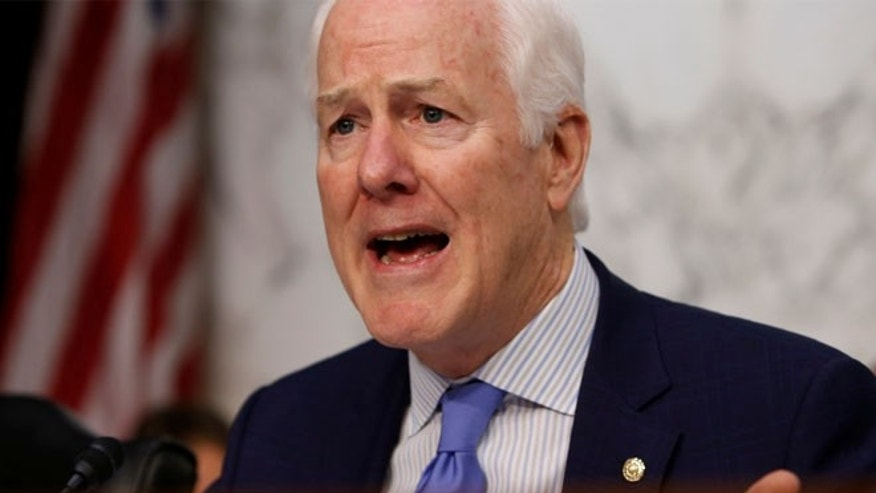 U.S. Senator John Cornyn was set to give a commencement speech but students at the school voiced opposition.