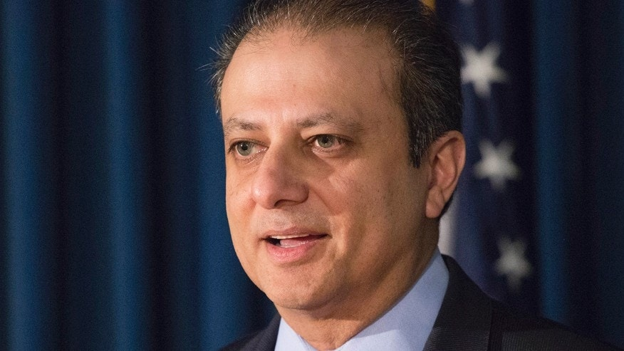 Former U.S. Attorney Preet Bharara is shown in this Dec. 21, 2016, file photo in New York City.