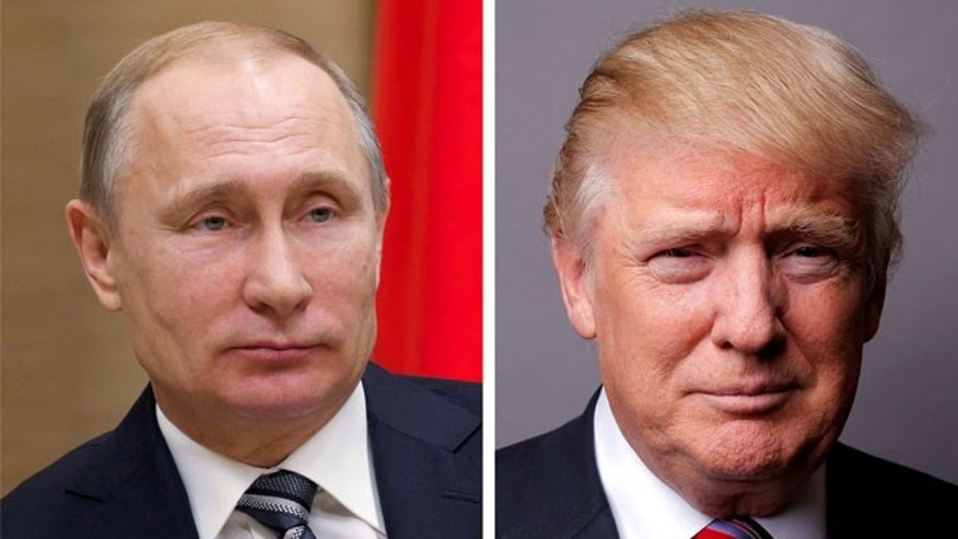 Russian President Vladimir Putin and U.S. President Donald Trump. Reuters