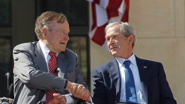 Image result for george and george bush images