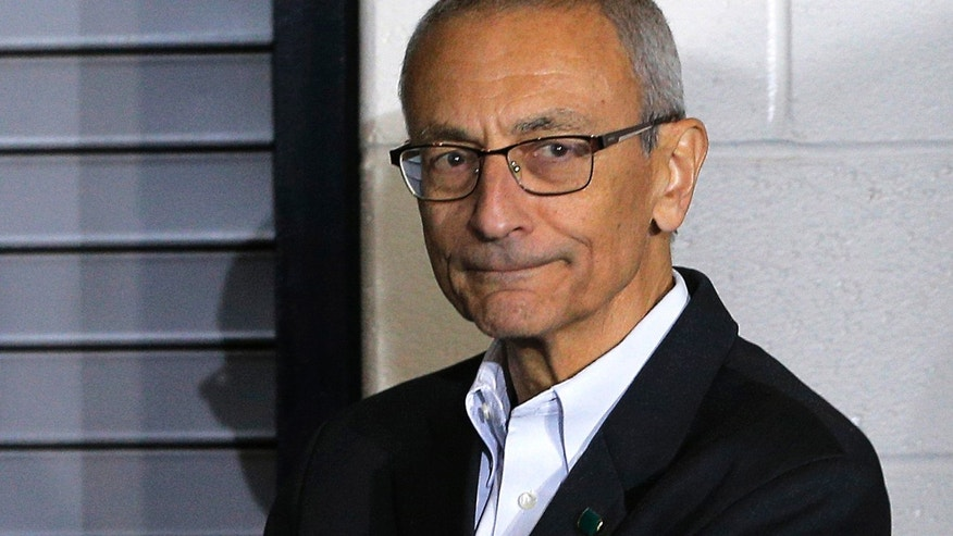 John Podesta lashes out at 'whack job POTUS' over G-20 tweet
