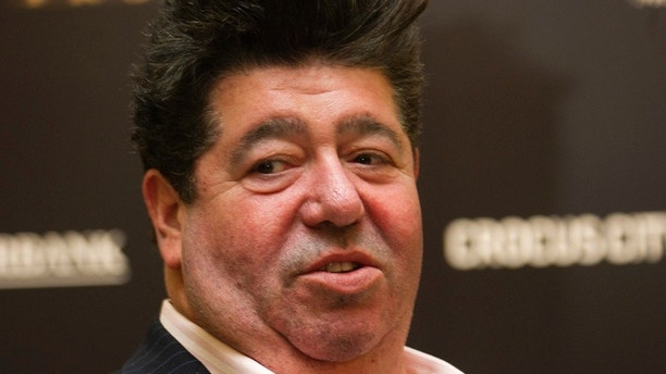 "FILE - In this file photo taken on Tuesday, Nov. 5, 2013,  music publicist Rob Goldstone attends a group picture during the preliminary competition of the 2013 Miss Universe pageant in Moscow, Russia.  In the emails, sent shortly after Donald Trump secured the GOP nomination, music publicist Rob Goldstone wrote to connect the Donlad Trump jnr. to Russian lawyer Natalia Veselnitskaya. The emails show Goldstone telling Trump that singer Emin Agalarov and his father, Moscow-based real developer Aras Agalarov, had ""helped along"" the Russian government's support for Trump.  (Irina Bujor/Kommersant Photo via AP, file) RUSSIA OUT"