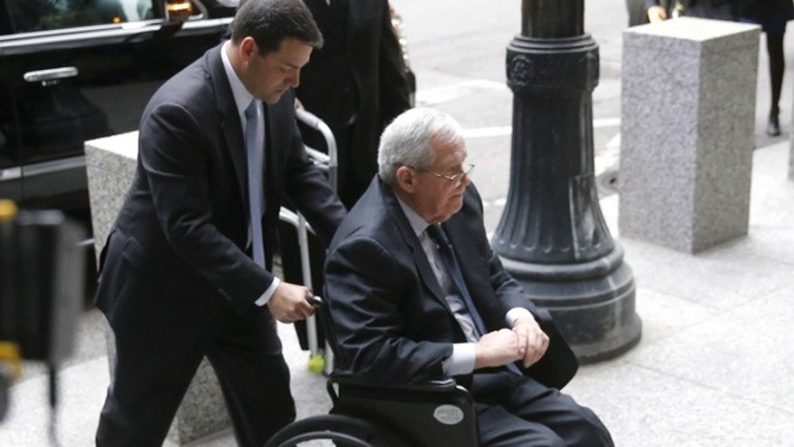 Former House Speaker Dennis Hastert leaves prison