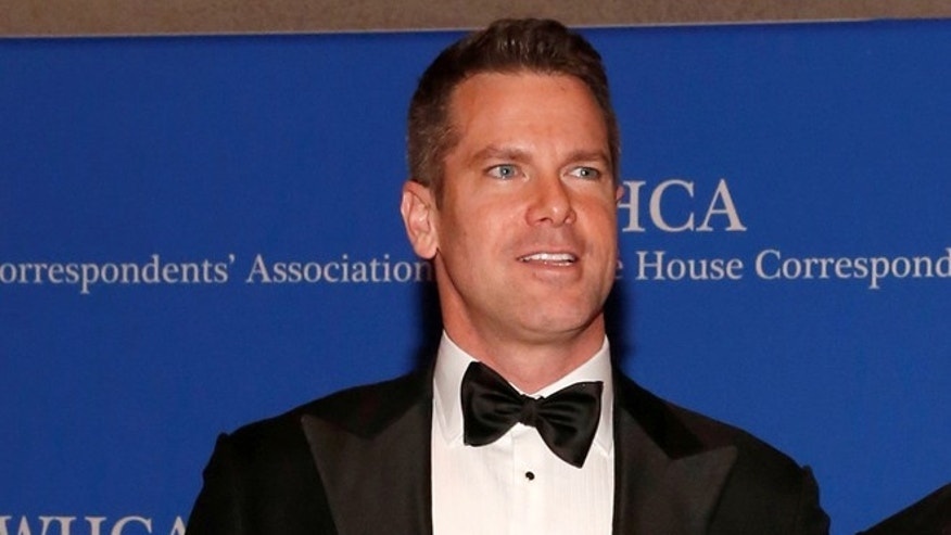 Thomas Roberts of MSNBC at the White House Correspondents' Association dinner in Washington, D.C. on April 29, 2017.