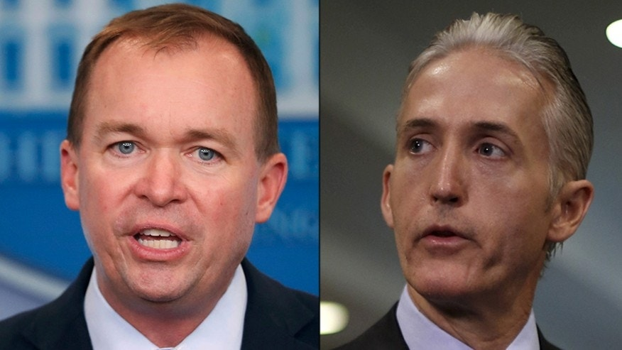 Mick Mulvaney and Trey Gowdy Rib Each Other on Twitter