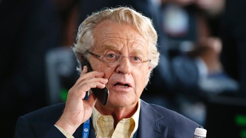 Television personality Jerry Springer attended last year's Democratic National Convention in Philadelphia.