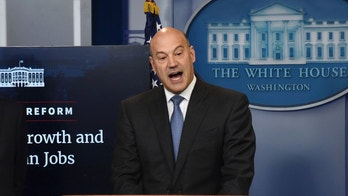 Director of the National Economic Council Gary Cohn discusses the goals and feasibility of President Trump's tax reform plan in the Press Briefing Room of the White House in Washington, DC, on April 26, 2017. Photo by Olivier Douliery/ ABACA(Sipa via AP Images)