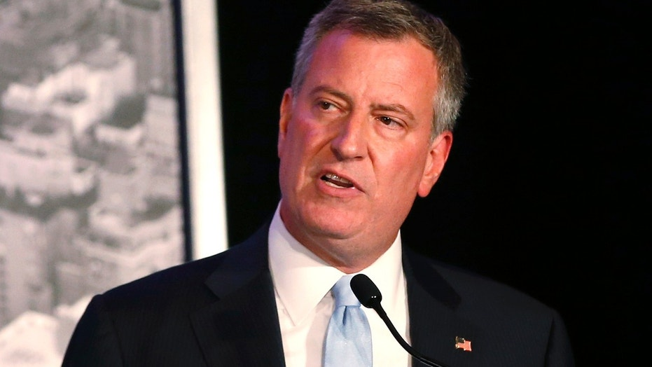 FILE 2013: New York City Mayor Bill de Blasio in New York