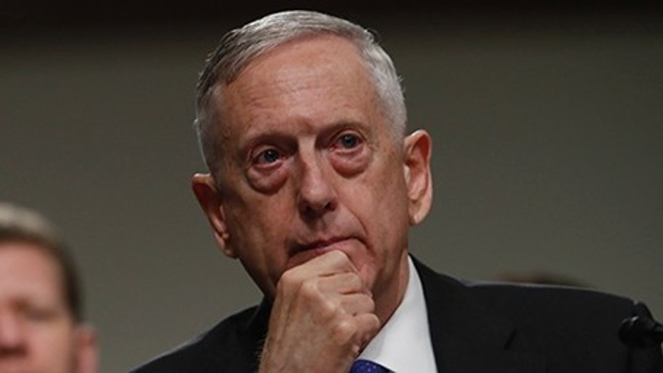 Defense Secretary Jim Mattis will visit the only base in the U.S. to house nuclear-capable bombers and nuclear tipped intercontinental ballistic missiles on Wednesday.