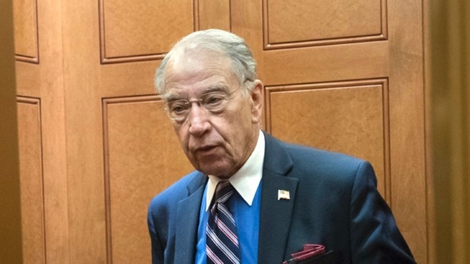 Senate Judiciary Committee Chairman Chuck Grassley, R-Iowa, at the Capitol on September 7, 2017.