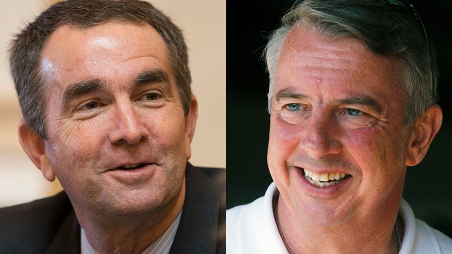 The Virginia governor's race pits Democratic Lt. Gov. Ralph Northam, left, against Republican Ed Gillespie