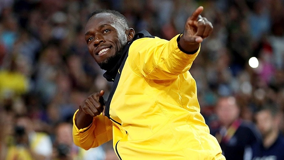 Even Jamaica's Usain Bolt showed respect for national anthem