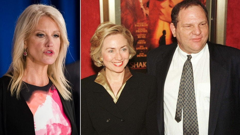 Counselor to the president Kellyanne Conway slammed Hillary Clinton on Twitter over her delayed response to sexual harassment allegations against Democrat mega-donor Harvey Weinstein.