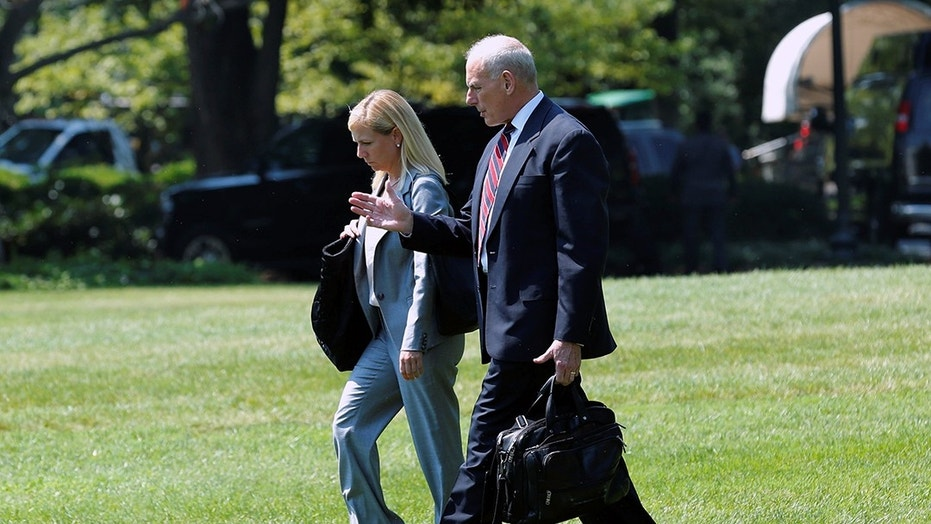 Kirstjen Nielsen would replace White House Chief of Staff John Kelly as Secretary of Homeland Security.