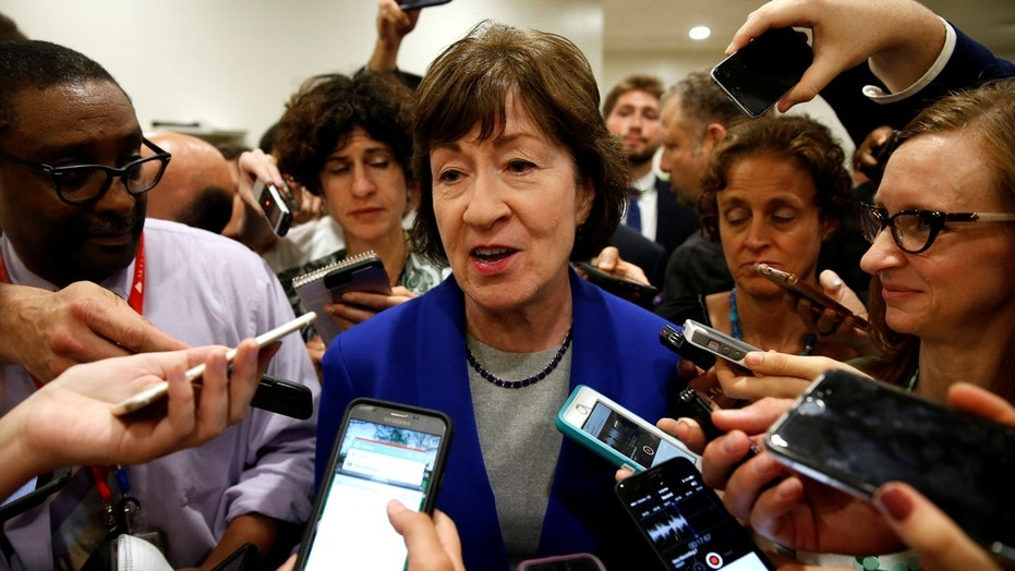 Sen. Susan Collins, R-Maine, says she will not run for governor. (AP)