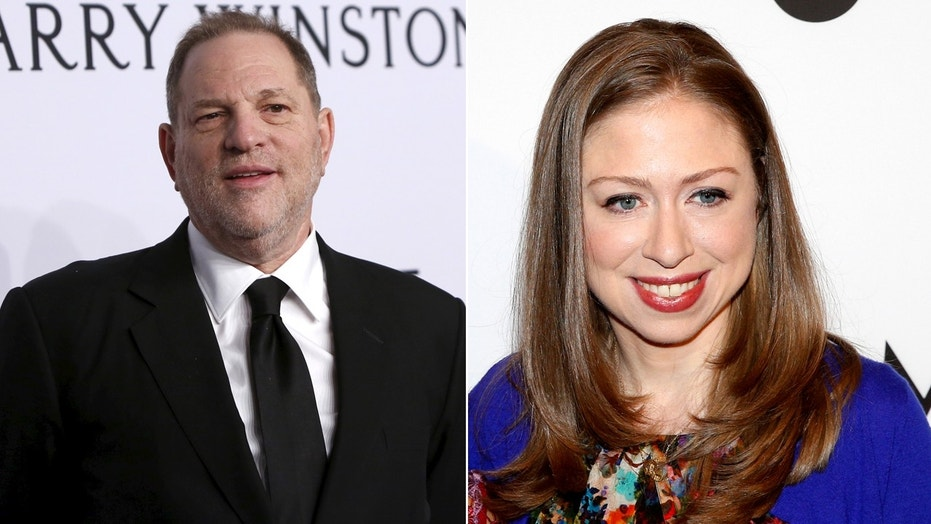Chelsea Clinton avoided questions on Saturday about disgraced Hollywood producer Harvey Weinstein's donations to the Clinton Foundation.