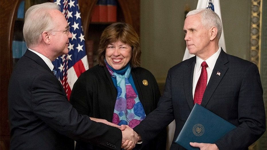 Georgia Rep. Betty Price (center), the wife of former HHS Sec. Tom Price, reportedly suggested the idea of a quarantine for HIV patients in the state.