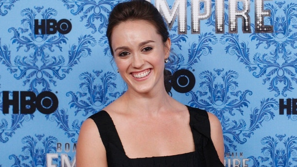 "Cast member Heather Lind smiles during a photo call for the premiere of the second season of ""Boardwalk Empire"" in New York September 14, 2011. REUTERS/Eduardo Munoz (UNITED STATES - Tags: ENTERTAINMENT HEADSHOT) - GM1E79F0U0301"