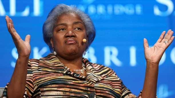 Donna Brazile, former chair of the Democratic National Committee and political strategist, speaks during the SALT conference in Las Vegas, Nevada, U.S. May 18, 2017.  REUTERS/Richard Brian - RC166D1D4350