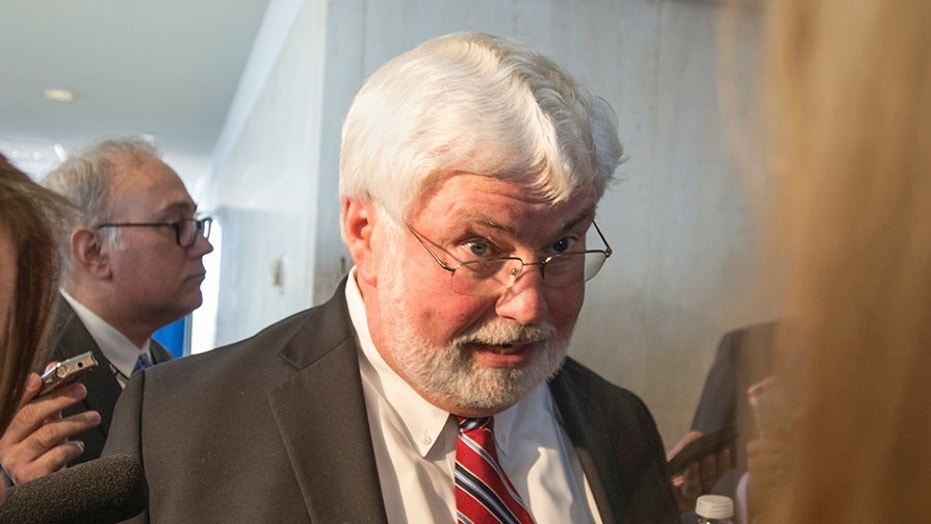 Florida senator and candidate for governor Jack Latvala, shown at the Florida Capitol on Nov. 2, has been removed from his leadership post.