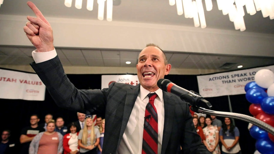 Utah Republican John Curtis wins vacant US Congress seat