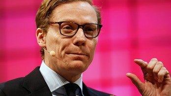CEO of Cambridge Analytica, Alexander Nix, gestures during the Web Summit, Europe's biggest tech conference, in Lisbon, Portugal, November 9, 2017. REUTERS/Pedro Nunes - RC1326060460