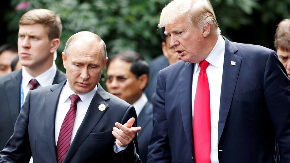 Image result for Trump, Putin agree on need to defeat IS in Syria