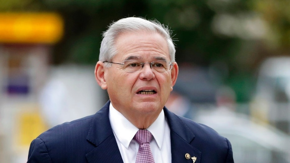 U.S. Sen. Bob Menendez, D-N.J., arrives at a federal courthouse in Newark, N.J., for his federal corruption trial, Oct. 26, 2017.