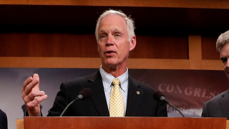 Sen. Johnson says the Republican tax plan unduly favors corporations over other businesses.
