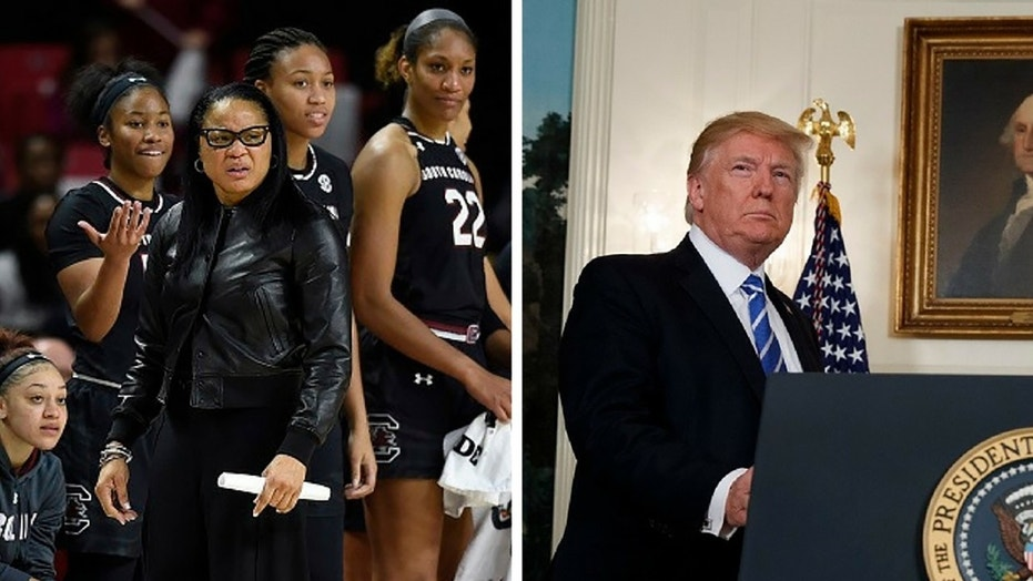 The South Carolina women's basketball team has declined President Trump's invite to the White House