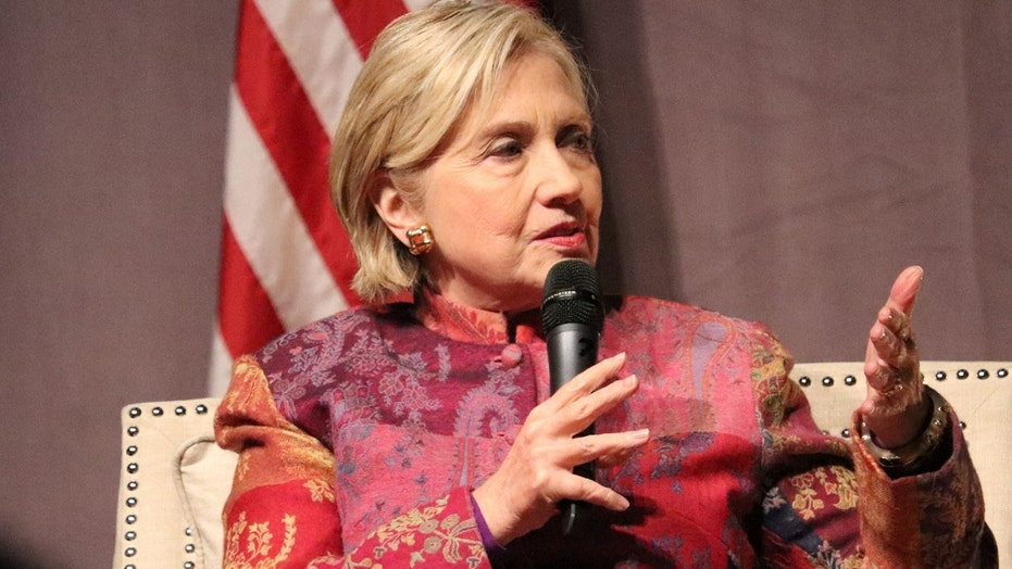 FILE 2017: Hillary Clinton reportedly criticized the Trump administration for retreating from diplomacy in recent months and said she hoped that China wouldn't follow suit.