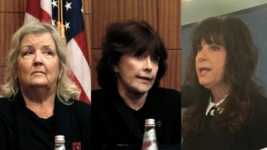 Video posted to social media show Clinton accusers Juanita Broaddrick, Kathleen Willey and Leslie Millwee entering Sen. Al's Franken's Capitol Hill office.