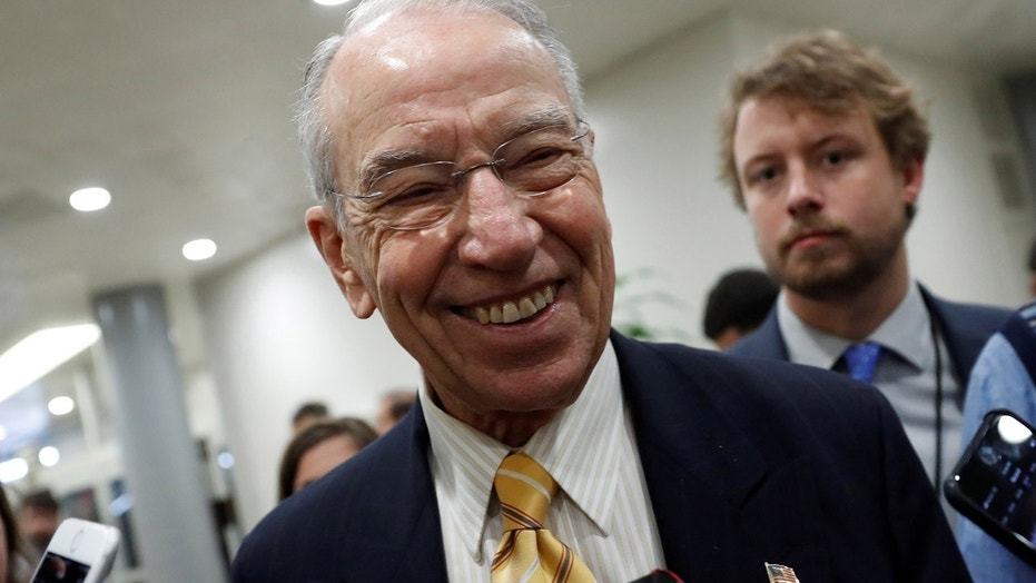 Grassley: Tax Bill Favors 'Savers,' Not Those Spending On 'Booze Or Women'