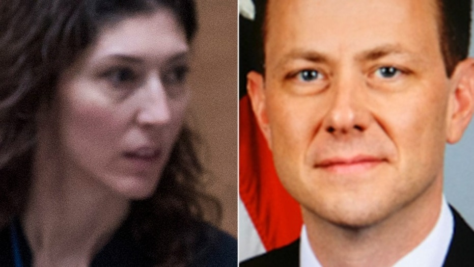 Lisa Page & Peter Strzok