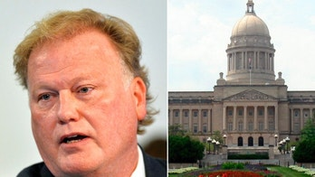 "CORRECTS TO A PROBABLE SUICIDE INSTEAD OF COMMITTED SUICIDE  FILE - In this Tuesday, Dec. 12, 2017, file photo, Kentucky State Rep. Republican Dan Johnson addresses the public from his church regarding sexual assault allegations in Louisville, Ky. Johnson died Wednesday night, Dec. 13, 2017. Bullitt County Coroner Dave Billings says it was ""probably suicide,"" and an autopsy is scheduled for Thursday morning. (AP Photo/Timothy D. Easley, File)"