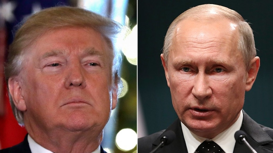 President Trump and Russian President Vladimir Putin spoke on the phone Thursday.