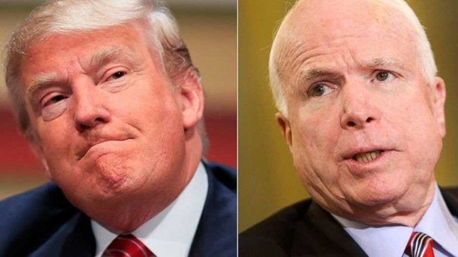 Donald Trump called Sen. John McCain's wife to check in on the Arizona Republican's condition after he was hospitalized this week.