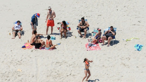 New Jersey Gov-elect poses for picture with Christie 'Beachgate' cutout