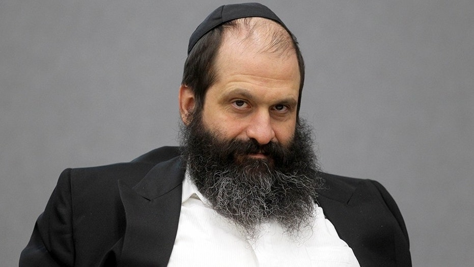 Sholom Rubashkin, pictured in 2009, was sentenced to 27 years in prison for money laundering.