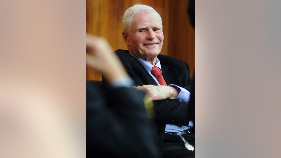 Former New Jersey Gov. Brendan Byrne is seen in this 2007 photo.