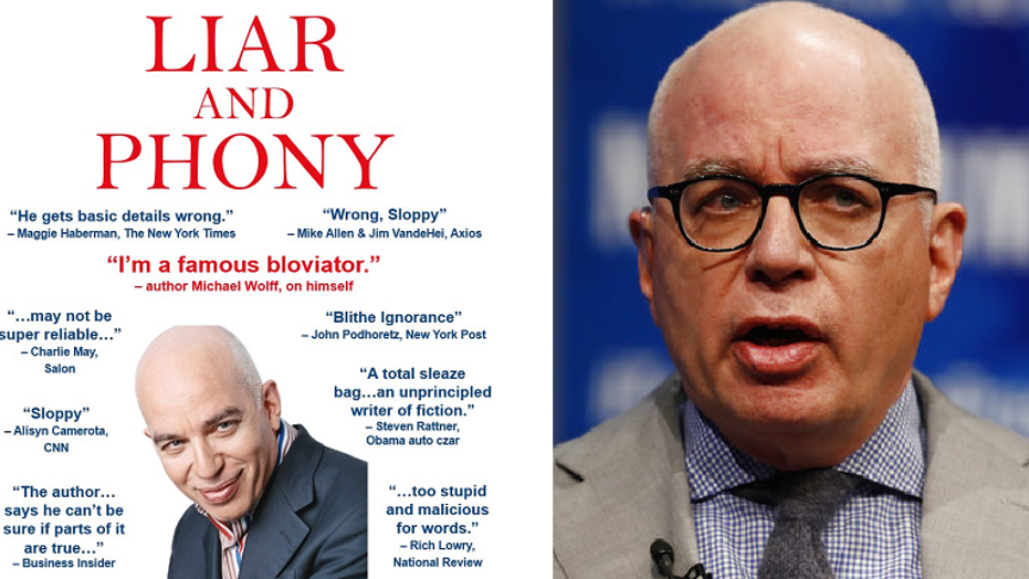 "The Republican Party on Friday tweeted a parody cover of Michael Wolff's newly released book, ""Fire and Fury: Inside the Trump White House."""