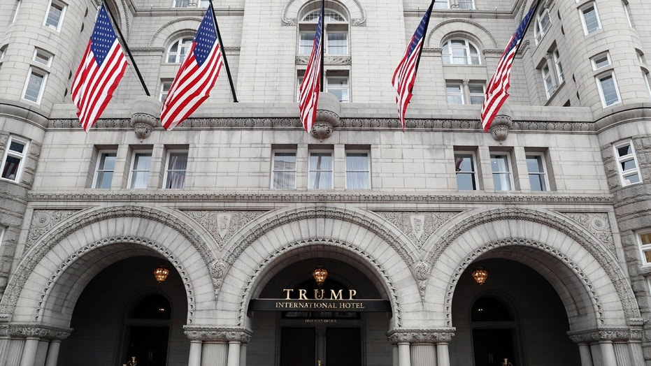 The Trump International Hotel in Washington is pictured in December 2016.