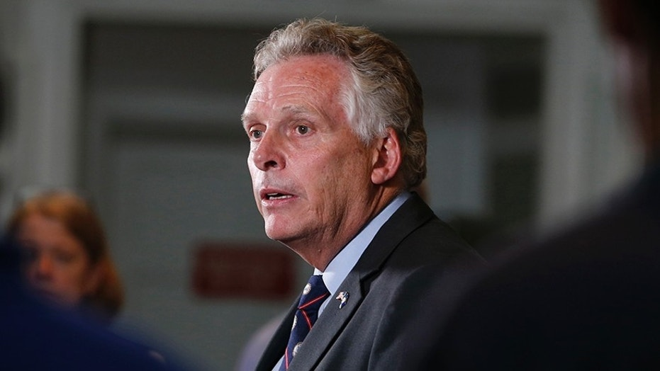 Democratic Virginia Governor Terry McAuliffe claims he would punch President Trump.