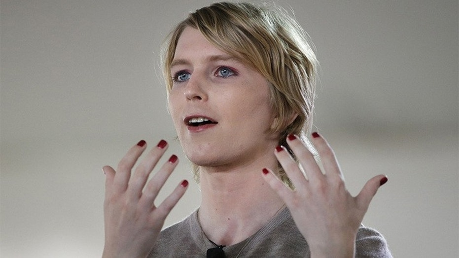 Chelsea Manning filed to run for US Senate