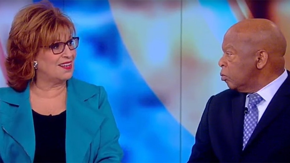 Rep. John Lewis told Joy Behar he 'couldn't be at home with myself&#x27 if he attended Trump's inauguration