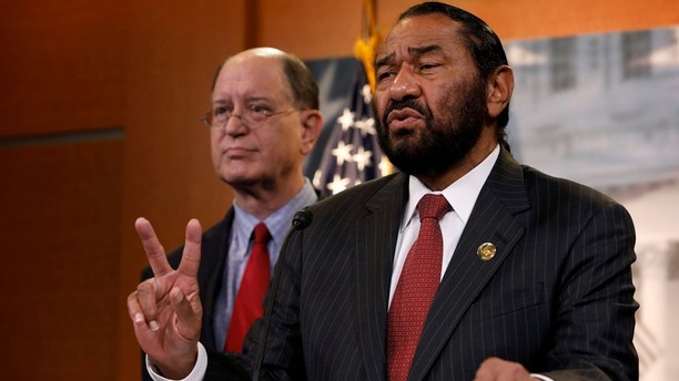 Watch Rep. Al Green's sad attempt to impeach Trump on House floor