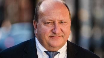 FILE - In a Tuesday, Nov. 28, 2017 file photo, Allentown Mayor Ed Pawlowski, who is facing corruption charges, walks to the federal courthouse in Philadelphia during a break in a pretrial hearing. Opening statements are scheduled to begin Monday, Jan. 22, 2017,  in the federal corruption trial of Pawlowski. (AP Photo/Matt Rourke, File)
